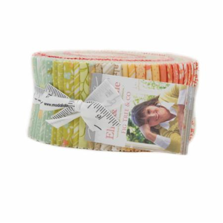 Ella & Ollie Jelly Roll 40Pc by Fig Tree Quilts for Moda