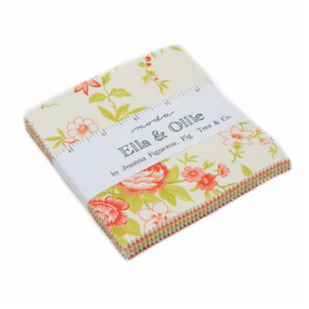 "Ella & Ollie Charm Pack 5"" x 5"" 42Pc for Moda"