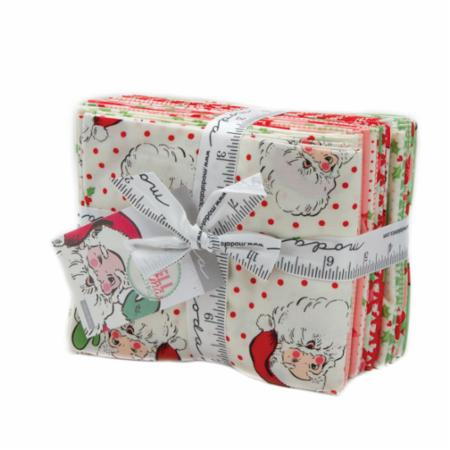 """Swell Christmas"" 18 piece Fat Quarter Bundle by Urban Chiks for Moda"