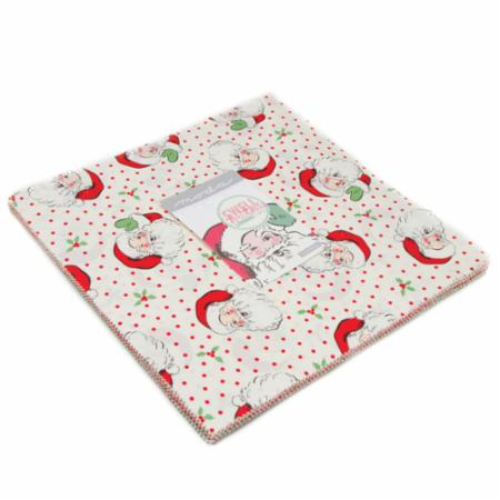 """Swell Christmas"" 42 piece Layer Cake 10"" x 10"" by Urban Chiks for Moda"