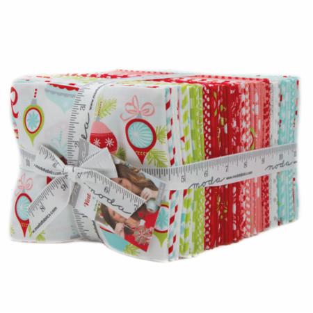 """Vintage Holiday"" 40 piece Fat Quarter Bundle by Bonnie & Camille for Moda"