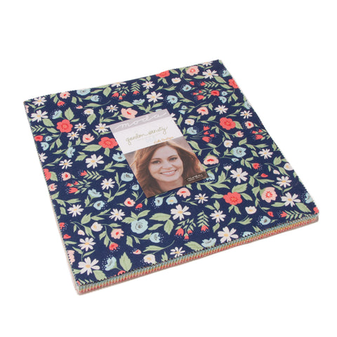 """Garden Variety"" 42 piece Layer Cake 10"" x 10"" by Lella Boutique for Moda"