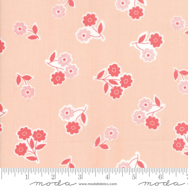 """Garden Variety""-Floral Handpicked Blossom by Lella Boutique for Moda"