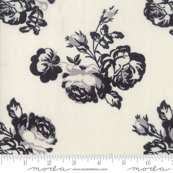 """Urban Cottage""-Urban Rose Ivory by Urban Chiks for Moda"