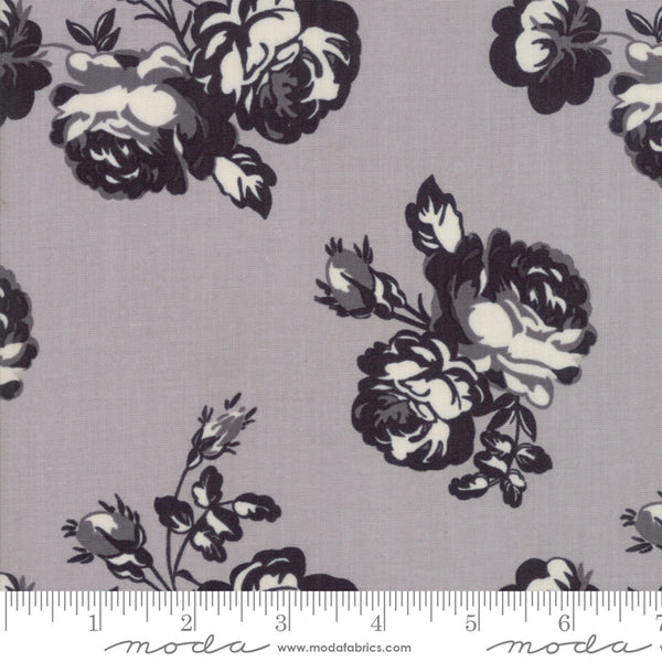 """Urban Cottage""-Urban Rose Gray by Urban Chiks for Moda"