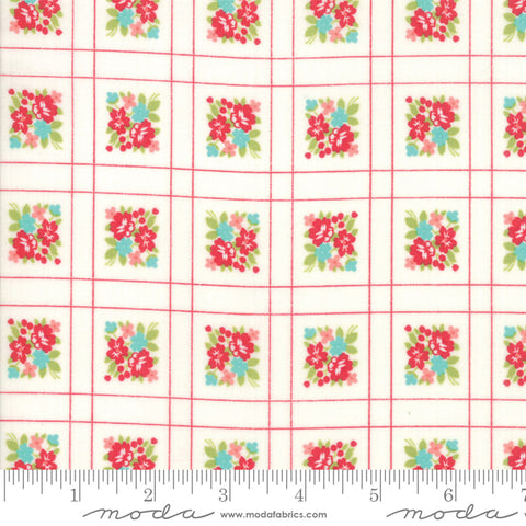 """Little Snippets""-Floral Forget Me Not Multi by Bonnie & Camille for Moda"