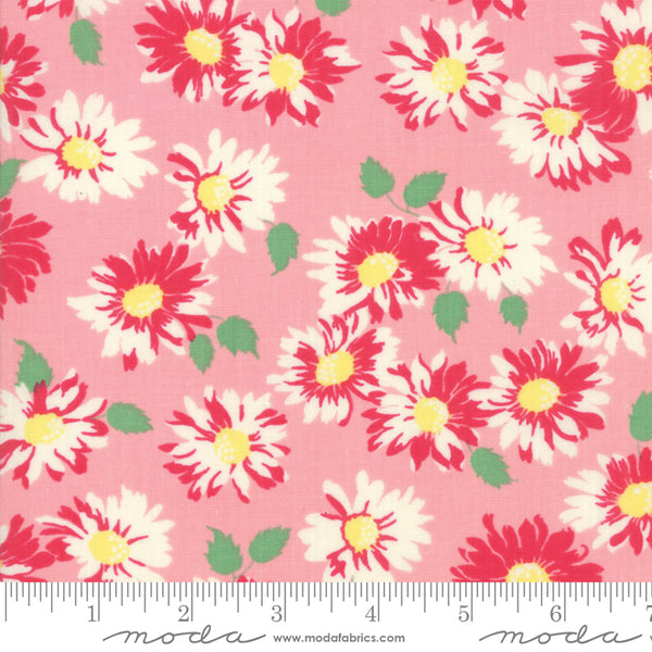 """Cheeky""- Floral Sassy Pink by Urban Chiks for Moda"