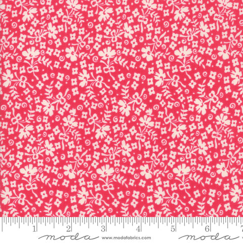 """Cheeky""-Floral Ditzy Red by Urban Chiks for Moda"