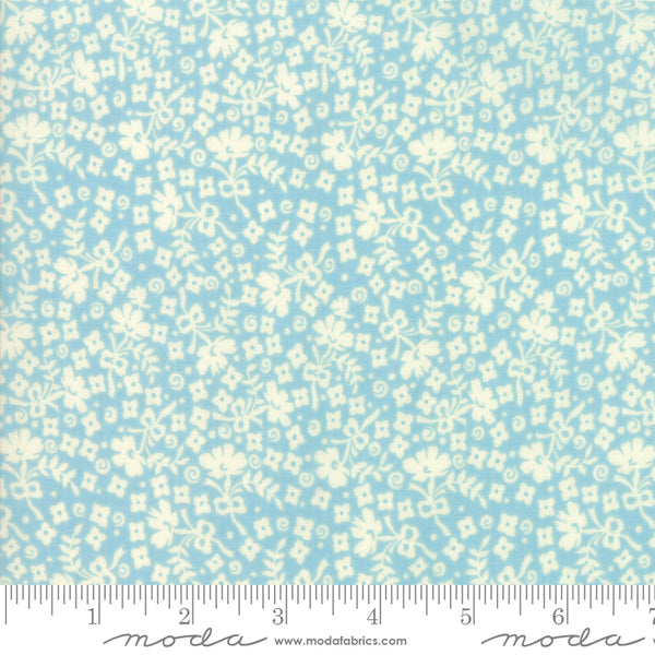 """Cheeky""-Floral Ditzy Light Blue by Urban Chiks for Moda"