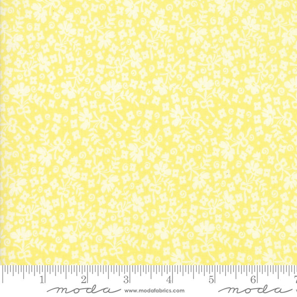 """Cheeky""-Floral Ditzy Yellow by Urban Chiks for Moda"