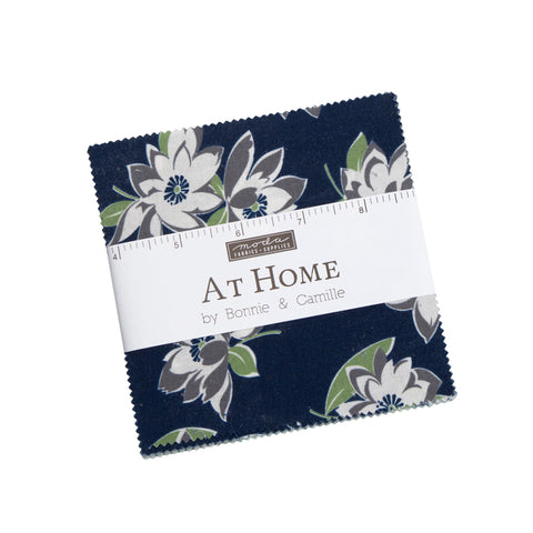 """At Home"" Camille's House 42 piece Asst Charm Pack by Bonnie & Camille for Moda"