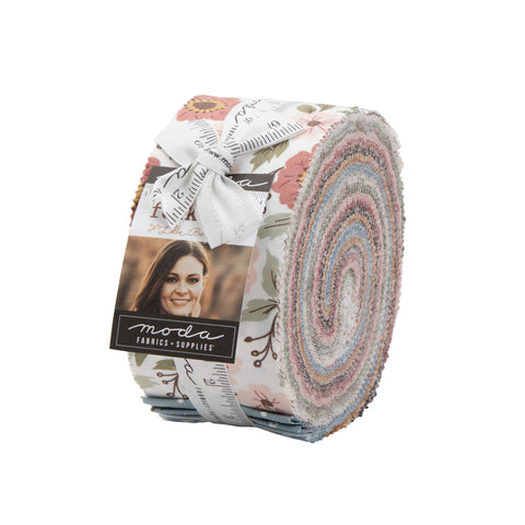 """Folktale"" Jelly Roll® by Lella Boutique for Moda"
