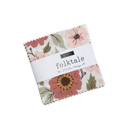 """Folktale"" Mini Charm by Lella Boutique for Moda"
