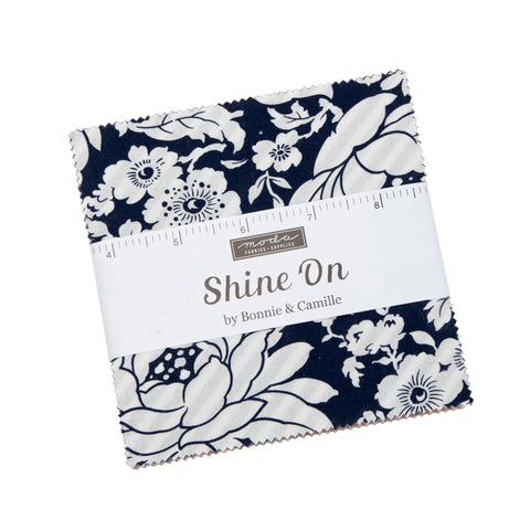 """Shine On"" 42 piece Asst Charm Pack by Bonnie & Camille for Moda"