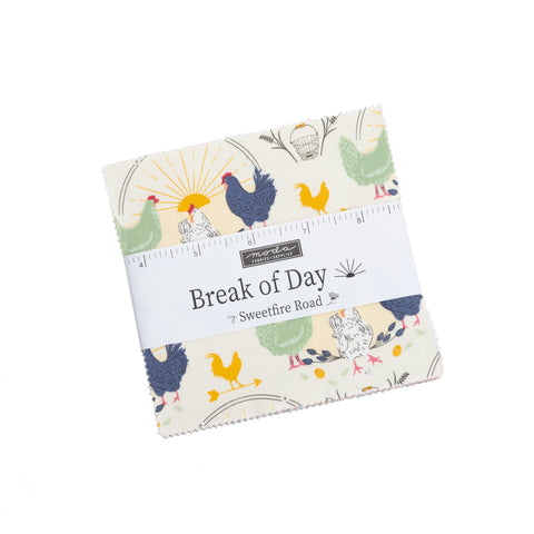 """Break of Day"" 42 piece Asst Charm Pack by Sweetfire Road for Moda"