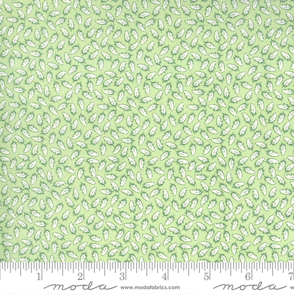 """Break Of Day""-Feathered Light Green by Sweetfire Road for Moda"