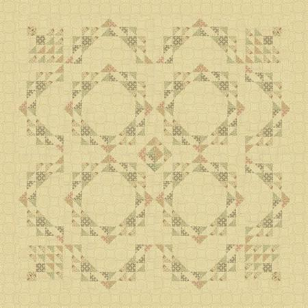 Linen and Lace Quilt Pattern by Sandy Gervais for Moda