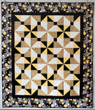 Spinning Bow Ties Quilt Pattern by Jennifer Shaffer of Patterns by Jen