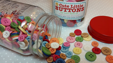"""Cute Little Buttons"" #1 by Lori Holt of Bee in My Bonnet for Riley Blake"