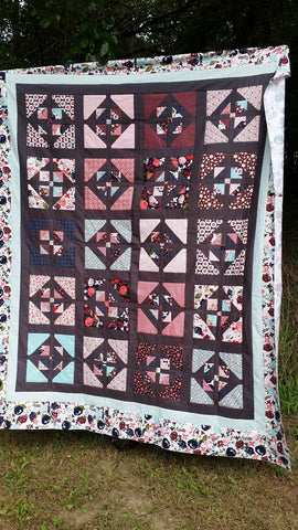 Window Garden Quilt Kit by Carried Away Quilting with Posy Garden Exclusive