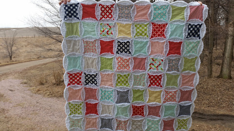Abundantly Blessed Table Topper/Baby Quilt Kit-by Bonnie Olaveson for Cotton Way with Bonnie & Camille Basics Fabrics