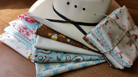 """Howdy Y'all""-Bundled Beauties Fat Quarter Bundle"