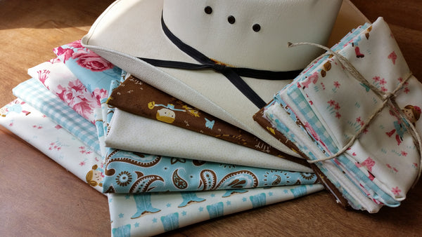 """Howdy Y'all""-Bundled Beauties 1/2 Yard Bundle"