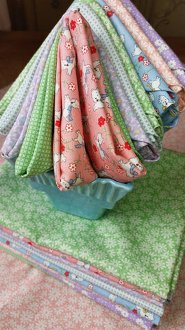 """Playtime""-Bundled Beauties Fat Quarter Bundle"
