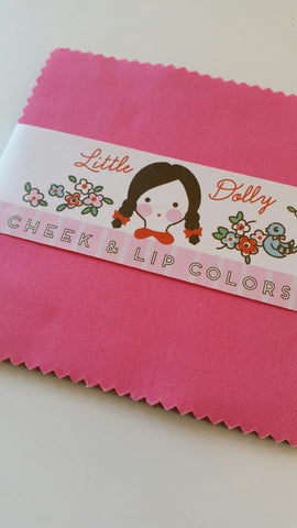 """Little Dolly""-Little Dolly Lip And Cheek Bundle 8 pc 5 Inch Stacker by Elea Lutz"