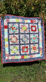 Wallflowers Quilt Kit-by Taunja Kelvington for Carried Away Quilting with The Good Life fabric by Bonnie & Camille