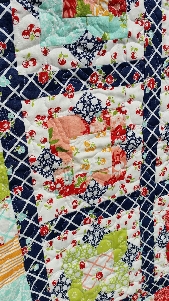 Wallflowers Quilt Kit By Taunja Kelvington For Carried