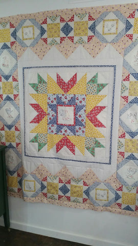Chicken Scratch Quilt Kit