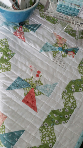 Summer Breeze Quilt Kit by Taunja Kelvington of Carried Away Quilting