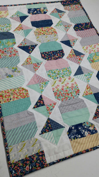 Diamond Trail Quilt Kit by Taunja Kelvington of Carried Away Quilting