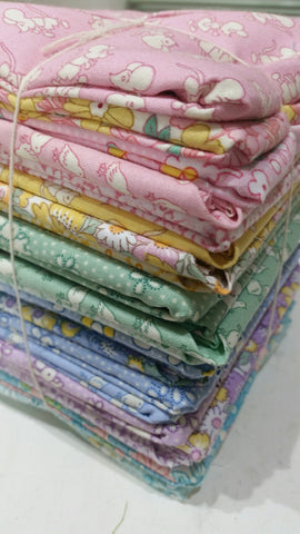 """Nana Mae II"" FAT QUARTER BUNDLE 24 Pieces- 18""x22"" cuts by 1930's Collection from Henry Glass for Checker"