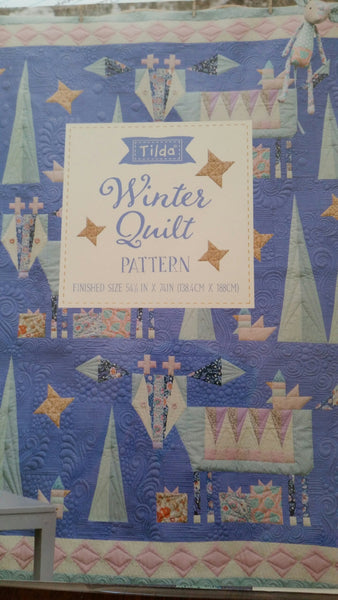 Tilda Bird Pond-Winter Quilt Pattern