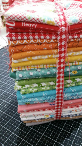 """Farm Girl Vintage"" Fat Quarter Bundle 34 Pcs. by Lori Holt of Bee in My Bonnet for Riley Blake"