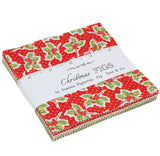 """Christmas Figs"" 42 piece Asst Charm Pack by Fig Tree Quilts for Moda"