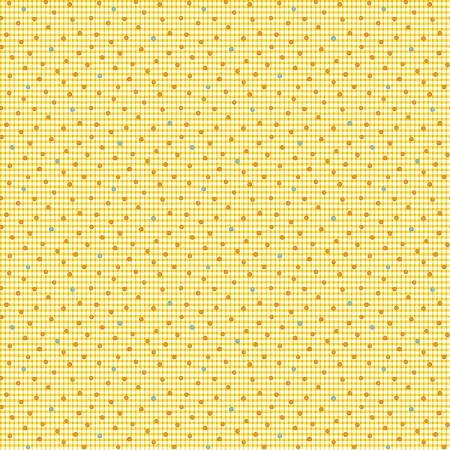 """Modern Antiques"" Butter Dots by Rose Ann Cook for Benartex"
