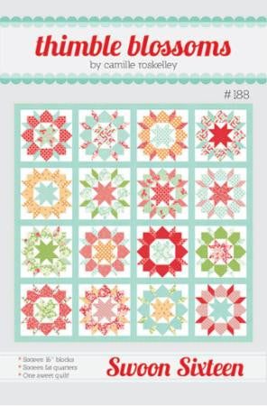 Swoon Sixteen Quilt Pattern by Camille Roskelley of Thimble Blossoms