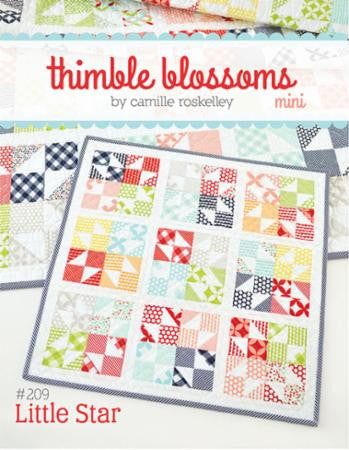 Little Star Mini Quilt Pattern by Camille Roskelley of Thimble Blossoms