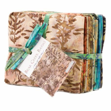Bear Creak Batiks Fat Quarter Bundle for Moda