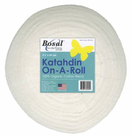 White Katahdin 2-1/4in X 50yds by Bosal