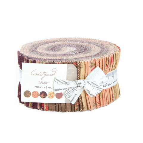 Courtyard Jelly Roll by 3 Sisters for Moda
