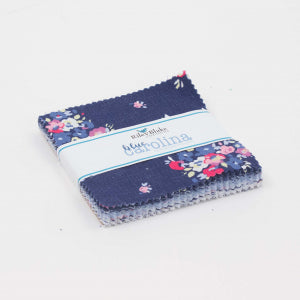 "Blue Carolina 5"" Stacker(5"" Squares) Bundle 42 Pcs. by Christopher Thompson, The Tattooed Quilter for Riley Blake"