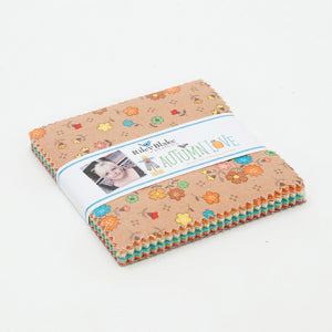 """Autumn Love"" 5"" Stacker 42 Pcs. by Lori Holt of Bee in My Bonnet for Riley Blake"