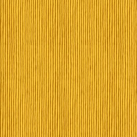 """Sweet Oak""- Candy Stripe Yellow Organic Cotton by Striped Pear Studio for Windham"