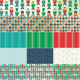 Nutcracker Fat Quarter Bundle 15 Pcs. by RBD Designers for Riley Blake