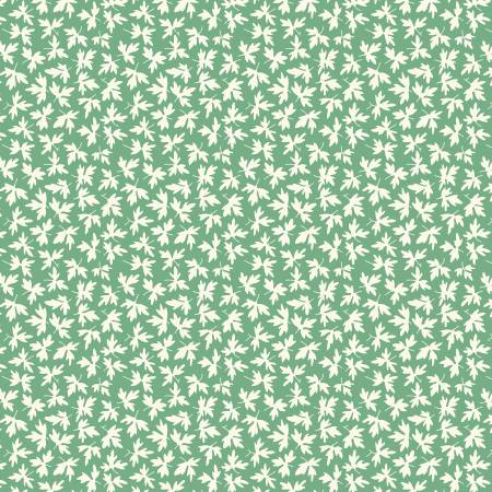 Green Leaves-Chicken Scratch by Kaye England from Wilmington Prints