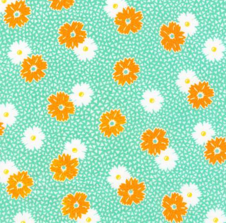 """Windowsill Garden""- Aloe Flowers 1930's Reproduction Print by Darlene Zimmerman for Robert Kaufman"